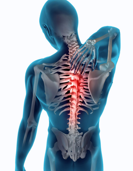 Chiropractor, Dr. John Schurr D.C. can help with Mid Back Pain.